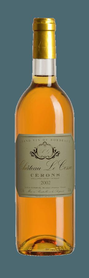 cérons-2002-vin-bordeaux-blanc-sémillon-sucré-liquoreux