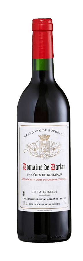 vin rouge cotes de bordeaux 1988