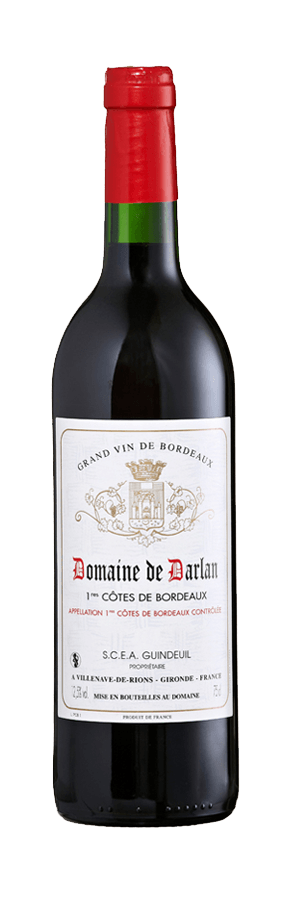 vin rouge cotes de bordeaux 1995